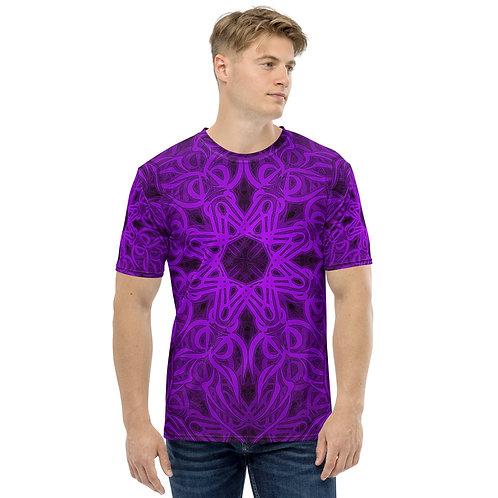 19Q21 OddSpectrum Violet Men's T-shirt