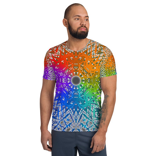 1G21SGWOwg V1 All-Over Print Men's Athletic T-shirt