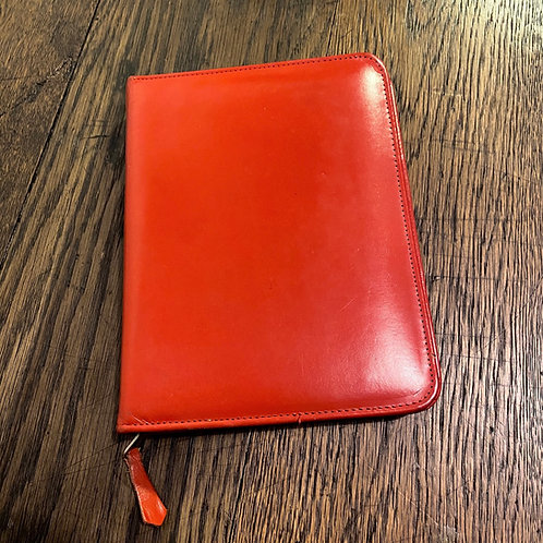 Vintage Red Leather Writing Case