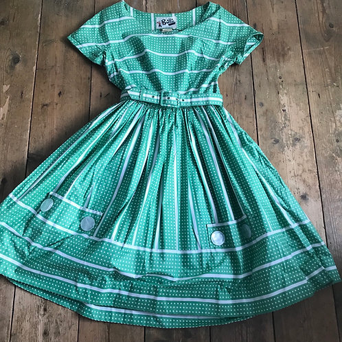 Original 1950's Polka Dot Dress