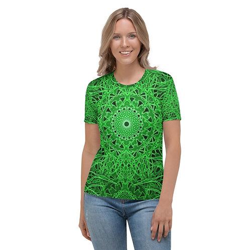 23O21 OddSpectrum Green Women's T-shirt