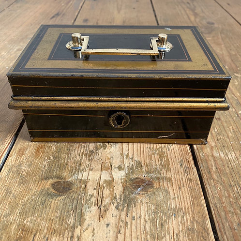 Vintage Cash Box with Key