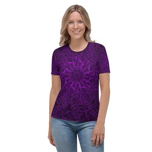 20Q21 OddSpectrum Violet Women's T-shirt