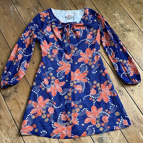 1960's Cotton M&S Mini Dress