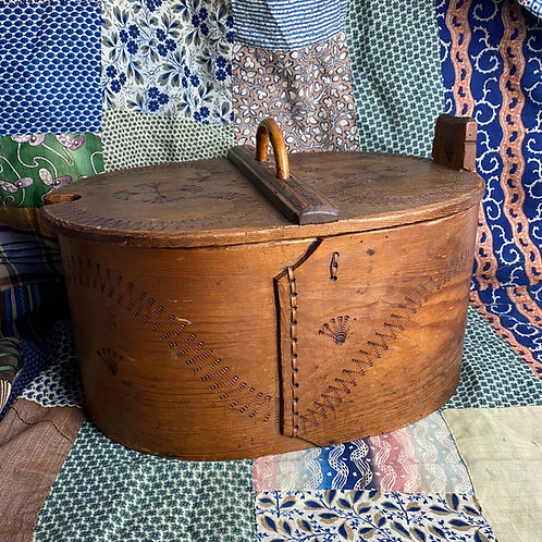 Vintage Swedish Tine Box