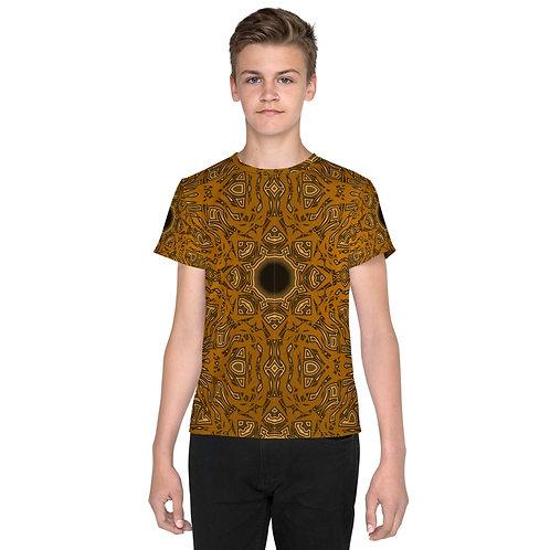 6W21V1 Spectrum Gold Youth T-Shirt