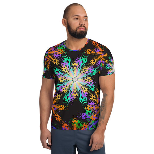 23 4EQIC All-Over Print Men's Athletic T-shirt