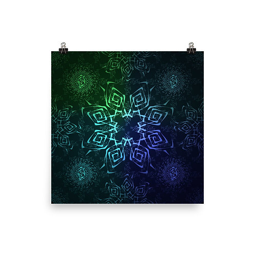 117. Hypnosis Colorwild II | Matte finish Print