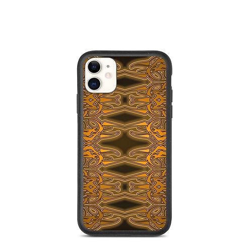 6W21 Spectrum Gold Biodegradable phone case