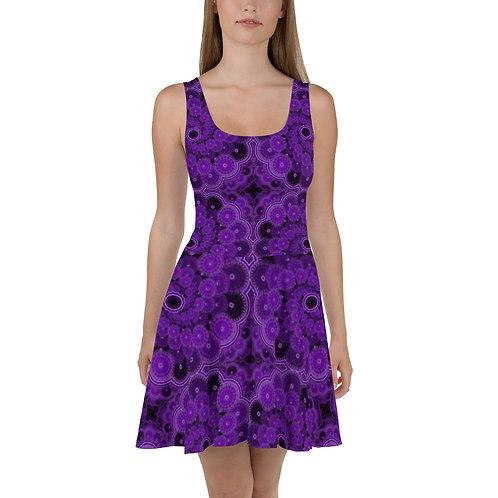 5Z21 Spectrum Violet Skater Dress