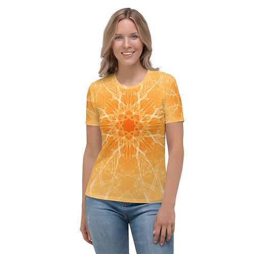 15 3B Musical Snowflake Women's T-shirt