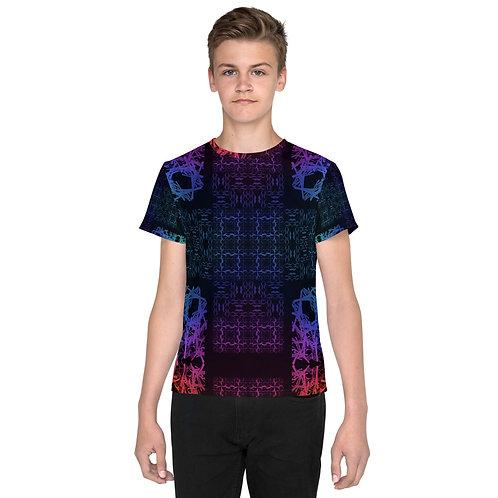 120V1 Barb Wire Colorwild I Youth T-Shirt