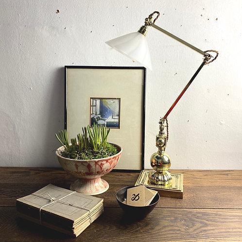 Edwardian Adjustable Desk-lamp