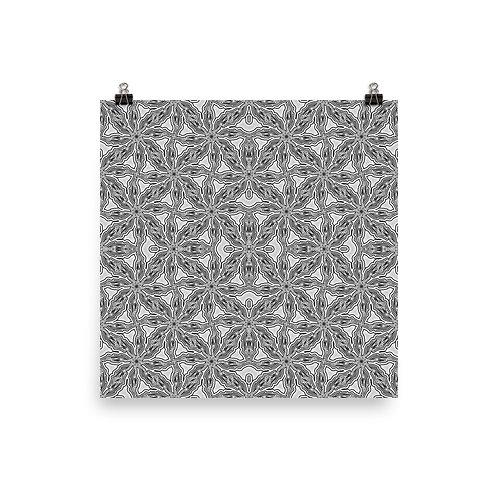 100A Oddflower Tile 2021 | Matte finish Print