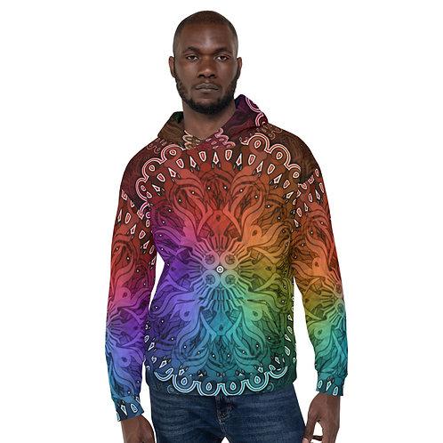 10A21 Spectrum Black Unisex Hoodie
