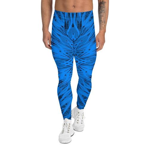 24E21 Spectrum Aquamarine Men's Leggings