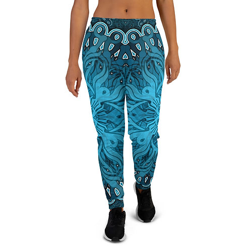 10P21 OddSpectrum Blue Women's Joggers