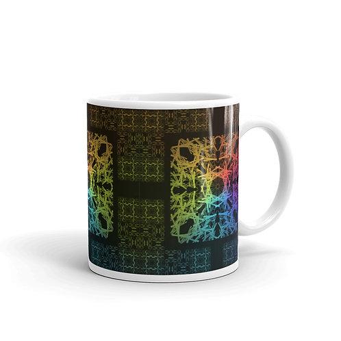 120. Barbwire Colorwild Mug