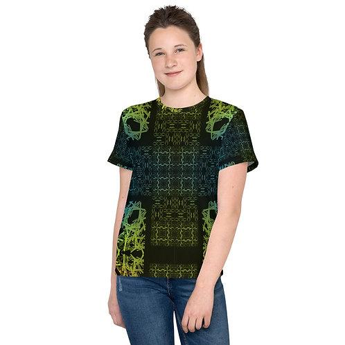 120V2 Barb Wire Colorwild I Youth T-Shirt