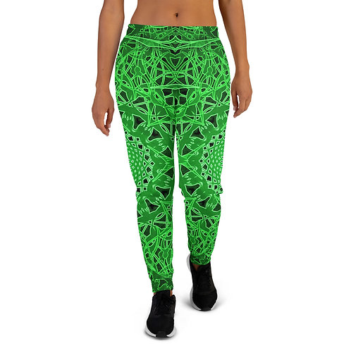 23O21 OddSpectrum Green Women's Joggers