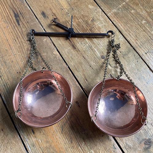Antique Copper Tea Scales