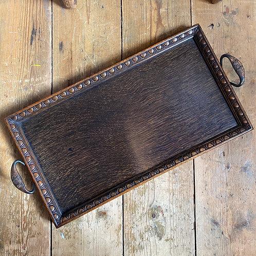 1920's Oak Tray