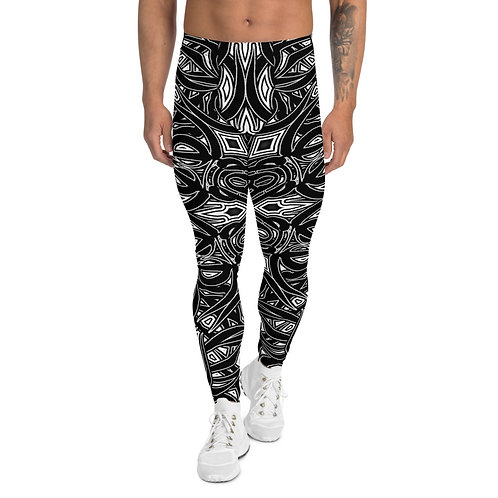 19G21 Oddflower Dahlia Men's Leggings
