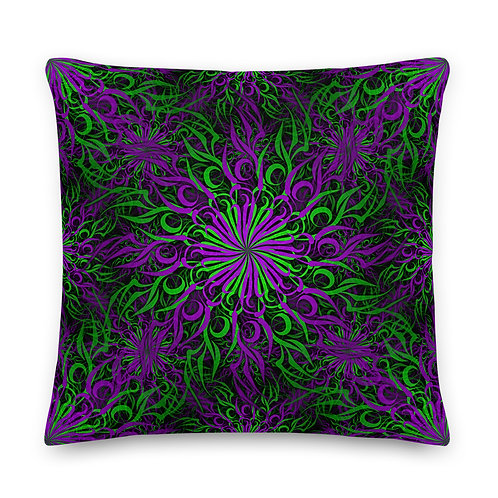 17F21 Spectrum Candy Amethyst Grape Premium Pillow