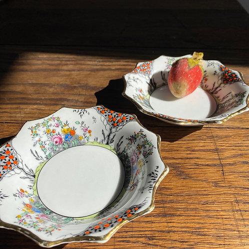 Pair of China Bon-Bon Bowls