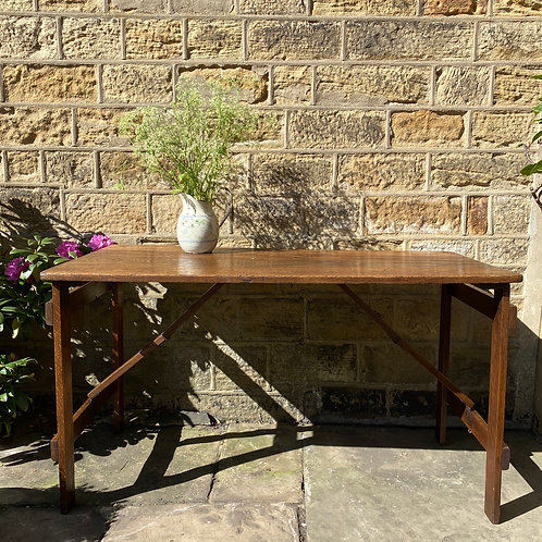 Oak Trestle Table 1943