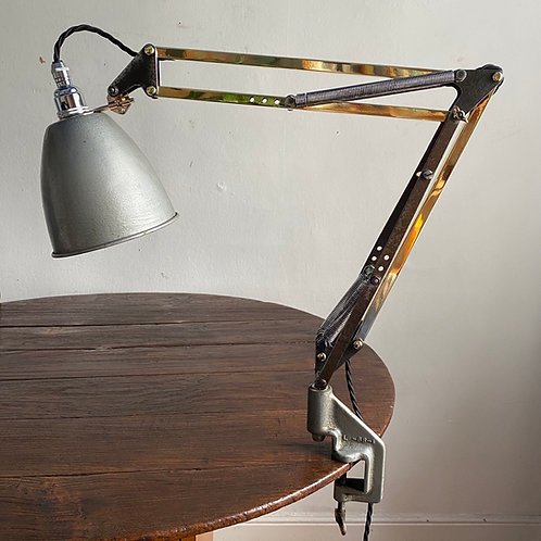 Early Anglepoise Clamp Light