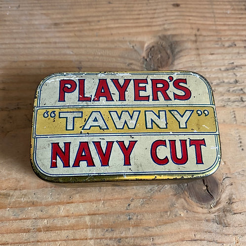 Antique Players Tobacco Tin