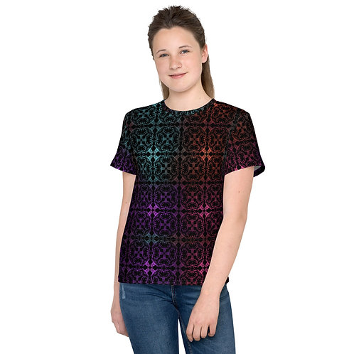 13. Multicolor Crossings I Youth T-Shirt