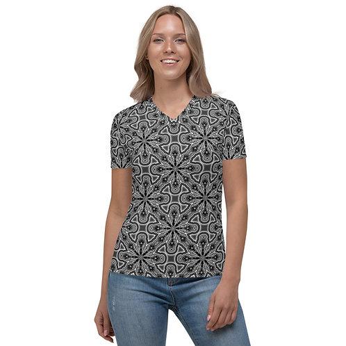 11 Oddflower Tile 2021 Women's V-neck