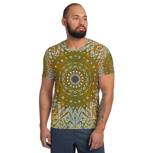 1G21SGWOwg V4 All-Over Print Men's Athletic T-shirt