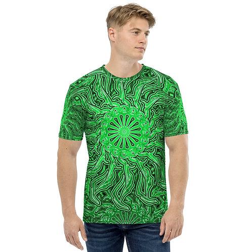 16O21 OddSpectrum Green Men's T-shirt
