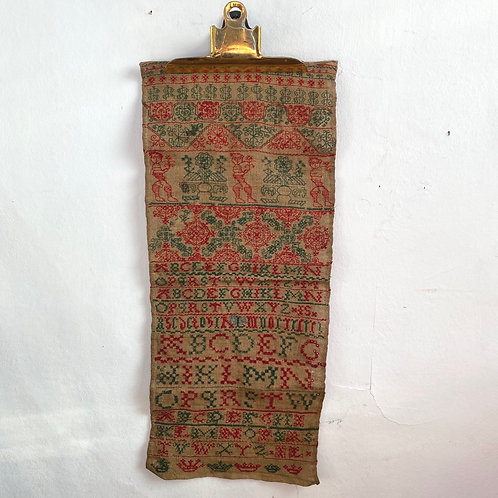 Antique C19th Naive Sampler