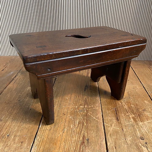 Antique Bench Stool