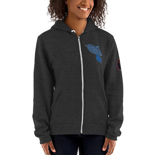 The Dove Aqua Portal Hoodie sweater