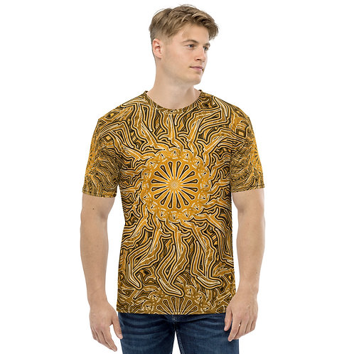 16Ñ21 OddSpectrum Yellow Men's T-shirt