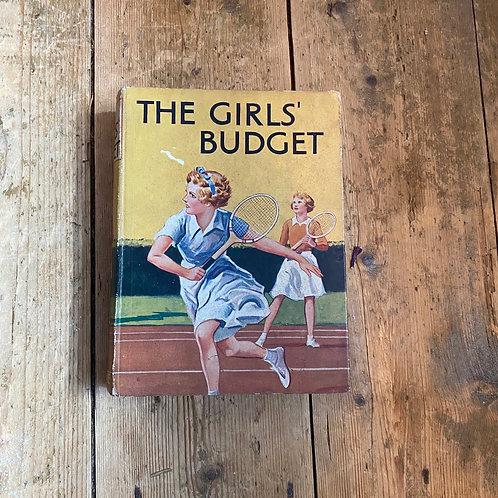 Vintage Girls Budget Book