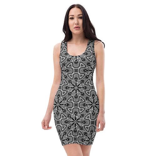 11 Oddflower Tile 2021 Sublimation Cut & Sew Dress