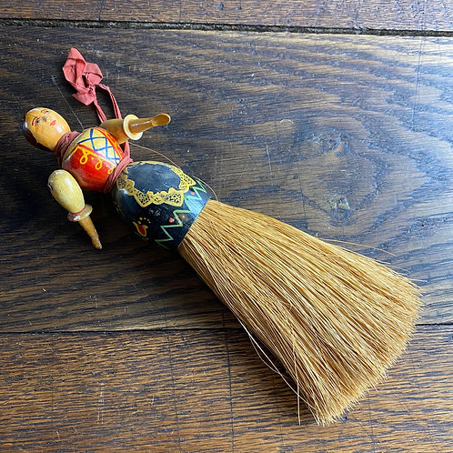 Painted Wooden Articulated Brush