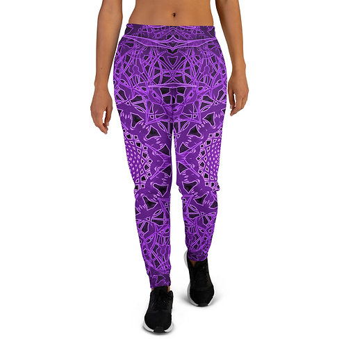 23Q21 OddSpectrum Violet Women's Joggers