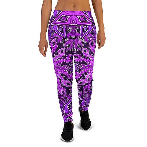 13E21 OddSpectrum Violet Women's Joggers