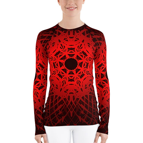 1V21 SR Women's Rash Guard