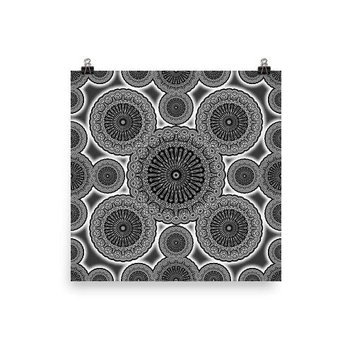 111 Oddflower Tile 2021 | Matte finish Print