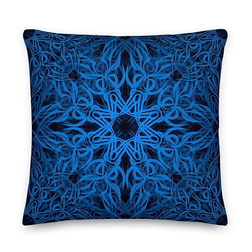 19E21 Spectrum Aquamarine Premium Pillow