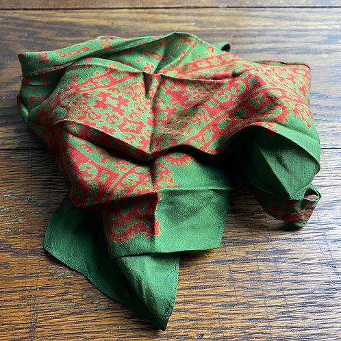 Vintage Silk Cravat Scarf