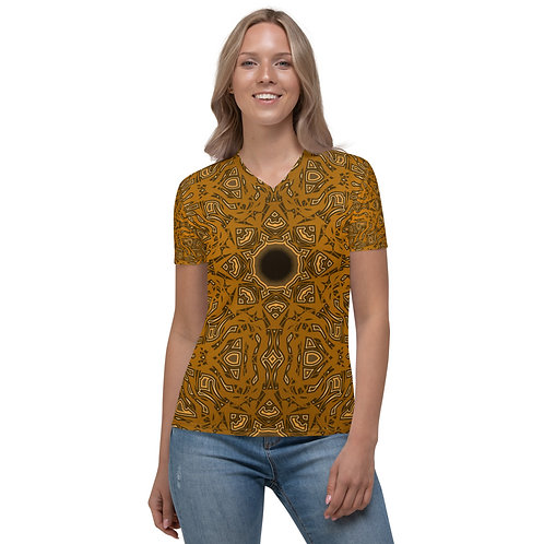 6W21V1 Spectrum Gold Women's V-neck